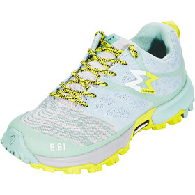 Garmont 9.81 Grid Scarpe Donna, light grey/light green